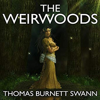Image: Weirwoods audiobook cover art